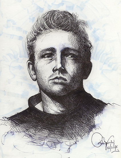JAMES DEAN  by John Dicandia  ( JinnDoW )