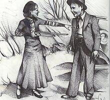 BONNIE & CLYDE by John Dicandia  ( JinnDoW )