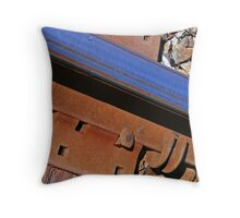 The Last Spike Throw Pillow