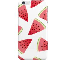 Watermelon illustration pattern iPhone Case/Skin