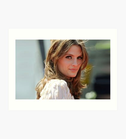 STANA KATIC PHONE CASES AND MORE! Art Print