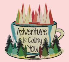 Adventure is Calling You Kids Clothes