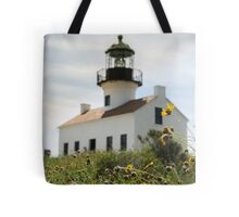 Historic Lighthouse Tote Bag