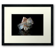 Beryl Crystals Framed Print