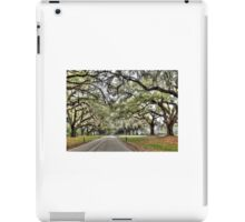 Boone Hall Plantation Way  iPad Case/Skin