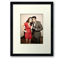 STANA AND NATHAN PHONE CASES AND MORE Framed Print