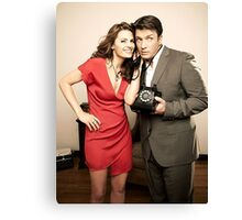 STANA AND NATHAN PHONE CASES AND MORE Canvas Print