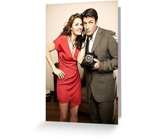STANA AND NATHAN PHONE CASES AND MORE Greeting Card