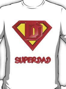 SuperDad lettered T-Shirt