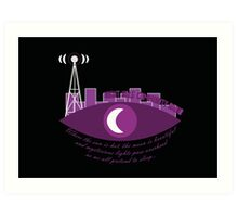 Night Vale Community Radio Art Print