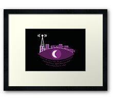 Night Vale Community Radio Framed Print