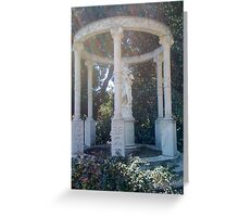 Huntington Library and Gardens Courtyard Greeting Card