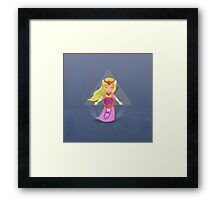 Zelda - Windwaker Framed Print