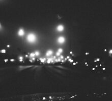 Bokeh in Black and White by Cayton Cox