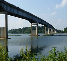 Pendleton Bridge by WildestArt