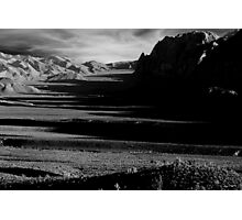 Valley of Shadows Photographic Print