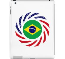 Brazilian American Multinational Patriot Flag Series iPad Case/Skin