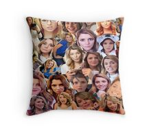 Grace Helbig Collage Throw Pillow