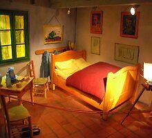 Visit Vincent's Bedroom In Arles by coffeebean
