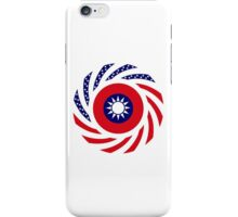 Taiwanese American Multinational Patriot Flag Series iPhone Case/Skin