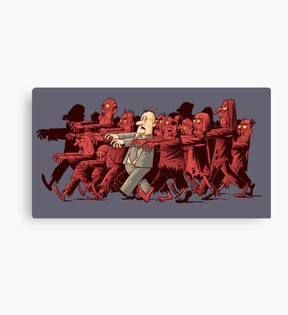 zombies!!! Canvas Print