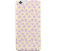 pastel lilac cats iPhone Case/Skin