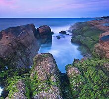 Newton Rocks Afterglow by Andrew Stockwell