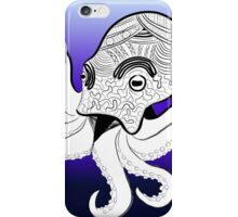 Octopus Art Therapy iPhone Case/Skin