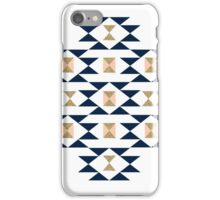 Jas - Modern pattern design in aztec themed pattern navajo print textile cute trendy girl iPhone Case/Skin