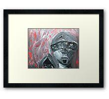 Wilfully Blind (Living in the Dark) Framed Print
