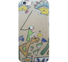 Funky face iPhone Case/Skin