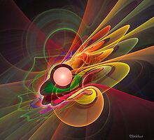 'Light Flame Abstract 206' by Scott Bricker