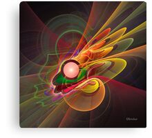 'Light Flame Abstract 206' Canvas Print
