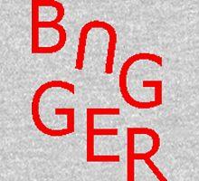Bugger Mens V-Neck T-Shirt