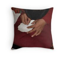 Concentration 1 Throw Pillow