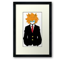 Loke The Lion - Time to Counter Attack! Framed Print