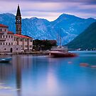 Church in Perast, Montenegro by Yen Baet