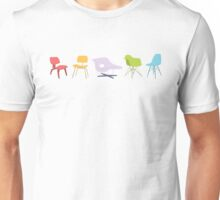 Ray & Charles Eames Chairs Classic Design Unisex T-Shirt