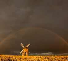 Rainbow over the mill by yampy