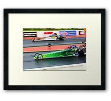 Designed for Speed Framed Print