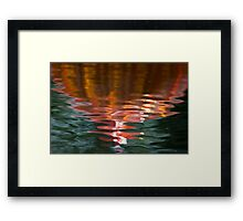 Reflections 12 Framed Print