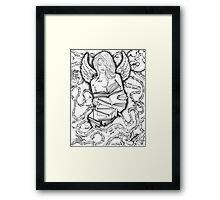The Power of a book Framed Print