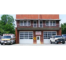 Blount County Fire Department Photographic Print