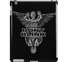 Doctor Who - Weeping Angels iPad Case/Skin