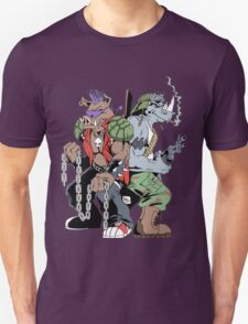 Rocksteady & Bebop Unisex T-Shirt