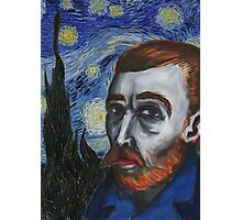 Van Gogh Portrait Photographic Print