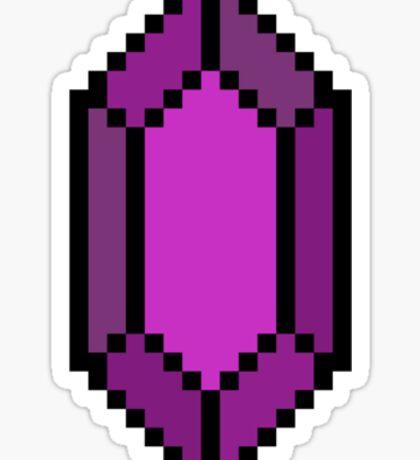 Purple Rupee Sticker