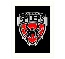 Varys Spiders Art Print