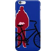 rat riding Bicycle iPhone Case/Skin