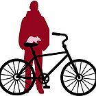 rat riding Bicycle by SofiaYoushi
